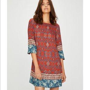 Desigual Vestito Donna Marrone Dress Large